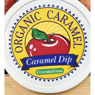 10.5oz Concord Foods Organic Caramel Dip, Pack of 1