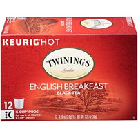 Twinings of London K-Cup Portion Pack for Keurig K-Cup Brewers Breakfast Tea, English, 12 Count (Pack of 6)