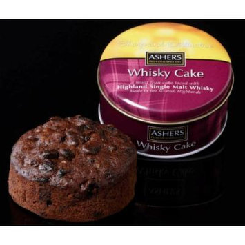 Ashers Island Single Malt Whisky Cake 180g/6oz (Highland Single malt)