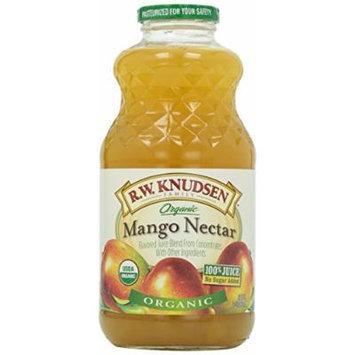 Knudsen, Juice, Mango Nectar, Organic, 1 Quart