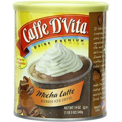 CAFFE D'VITA SMOOTHIE MIXES 19OZ CAN (MOCHA ICED COFFEE)
