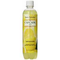 Cascade Ice Sparkling Water, Lemonade, 17.2 Ounce (Pack of 12)