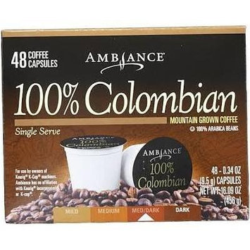 48 Ambiance K-Cup Keurig Capsules - 100% Arabica beans