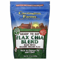 Carrington Farms - Organic Milled Flax Chia Blend - 12 oz
