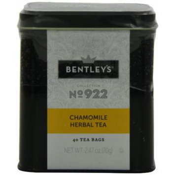 Bentley's Harmony Collection Tin, Chamomile Herbal, 40 Count