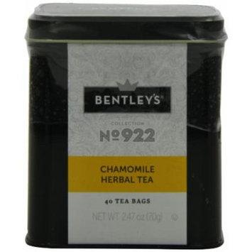 Bentley's Harmony Collection Tin, Chamomile Herbal, 40 Count