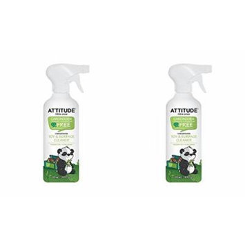 (2 PACK) - Attitude Little Ones Fragrance Free Toy & Surface Cleaner , 475ml , 2 PACK - SUPER SAVER - SAVE MONEY