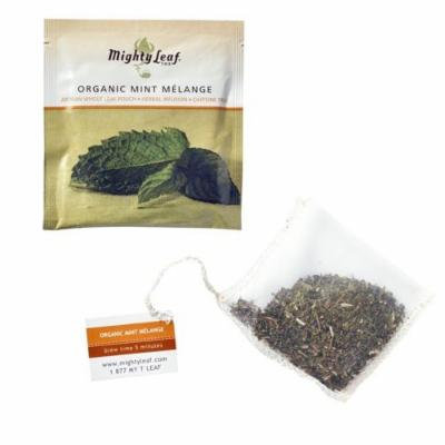 Organic Mint Melange - Mighty Leaf (100 Foil Wrapped Tea Pouches)