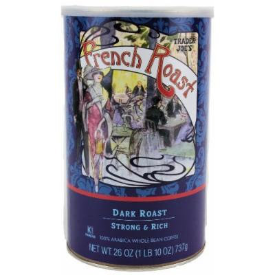 Trader Joe's French Roast 100% Arabica Whole Coffee Beans, 26 Oz