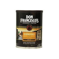 Don Francisco's, Espresso Ground Coffee, 12oz Can (Pack of 2)
