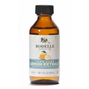 Rodelle Pure Extract, Lemon, 2 Ounce