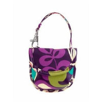 Vera Bradley Pacifier Pod in Plum Crazy