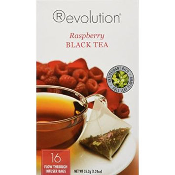 Revolution - Raspberry Black Tea - 16 Bag (1 Pack)