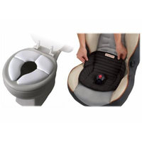 Mommy's Helper Cushie Traveler with Piddle Pad Car Seat Protector