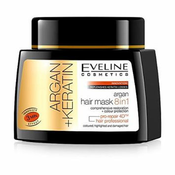 Eveline Cosmetics Argan Hair Mask 8IN1