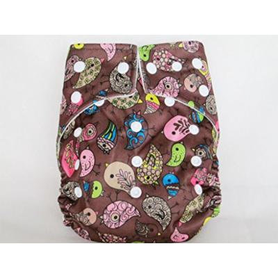 Kawaii Goodnight Heavy Wetter One-Size Pocket Diaper, Toffee Baby Chick
