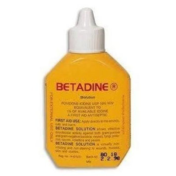 30cc Betadine Povidone-iodine a First Aid Antiseptic Solution.(Pack of 2)