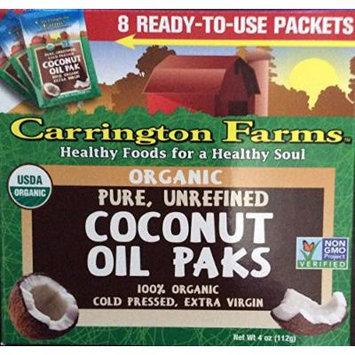Carrington Farms Unrefined Coconut Oil, 4 Ounce