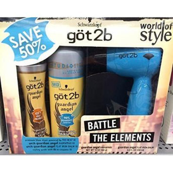 Schwarzkopf göt2b World of Style 3 Piece Gift Set - Battle the Elements Guardian Angel Series