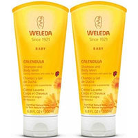 Weleda Calendula Shampoo and Body Wash, 6.8-Ounce (2 Pack)