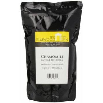 Elmwood Inn Fine Teas, Chamomile Caffeine-free Herbal, 8-Ounce Pouch
