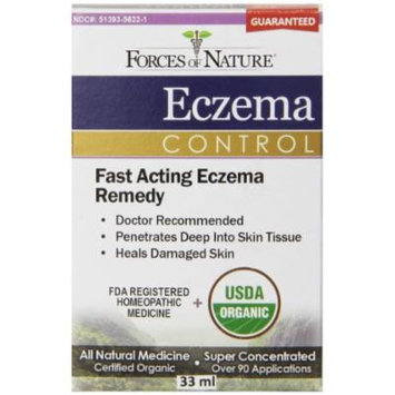 Forces of Nature Eczema Control, 33 Gram