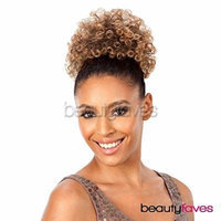 AFRO PUNK LARGE (1 Jet Black) - Shake N Go FreeTress Equal Drawstring Ponytail