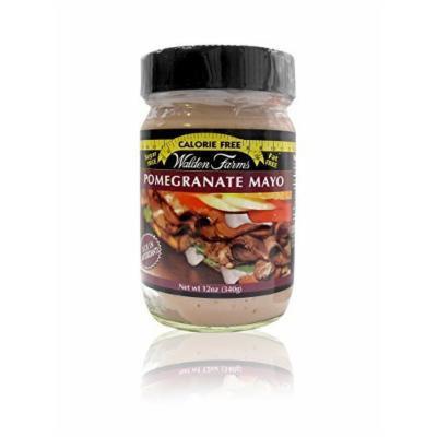 Walden Farms Pomegranate Mayo - Sugar Free, Calorie Free, Fat Free, Carb Free, Gluten Free - 2 Bottle