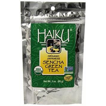 Haiku Japanese Organic Sencha Green Tea, Loose, 3 Ounce Bag