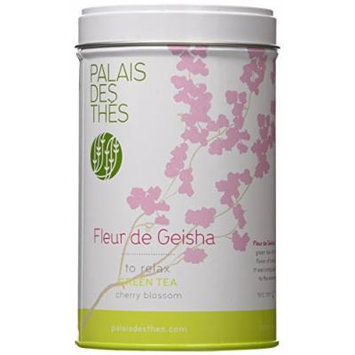 Palais des Thés Fleur De Geisha Green Tea, 3.5oz Metal Tin