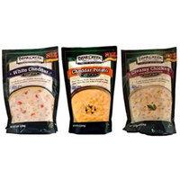 Bear Creek Country Kitchens Soup Mix 3 Flavor Variety Bundle: (1) White Cheddar Soup Mix, (1) Cheddar Potato Soup Mix, and (1) Creamy Chicken Soup Mix, 8.3-12.1 Oz. Ea.