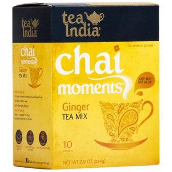 Tea India Chai Moments Tea Mix, Ginger, 7.9 Ounce