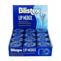 Blistex Lip Medex Relieves Sore Lips & Restores Moisture Balance 0.25oz (Pack of 12)