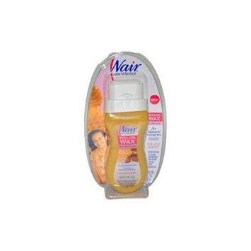 Nair Roll-On Wax, Au Naturel, Milk & Honey, 5.7 oz (Pack of 3)