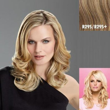 Tru2Life Styleable Extensions - 20 Inch Wavy Clip In Extension - R29S-Glazed Strawberry/Red Blonde