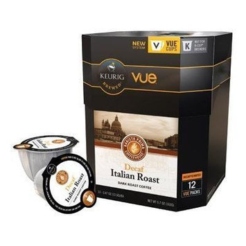 Barista Prima Italian Roast Decaf Keurig Vue Portion Pack, 12 Count