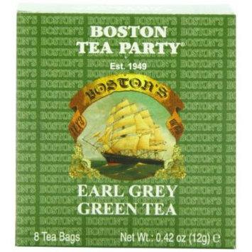 Boston Tea Mini Box, Earl Grey Green Tea, 8 Count (Pack of 48)