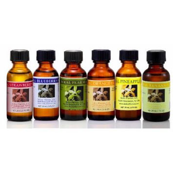 Fruit Salad Natural Flavors Collection - Strawberry, Blueberry, Pear, Orange, Pineapple, Banana