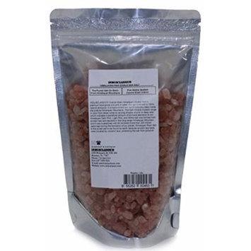 Indusclassic Kosher Pure Natural Unprocessed Himalayan Edible Pink Cooking Coarse Grain Salt (1 lbs Coarse Grain 3~6mm)
