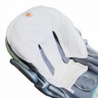 Satsuma Designs Velour Infant Car Seat Liner, Natural