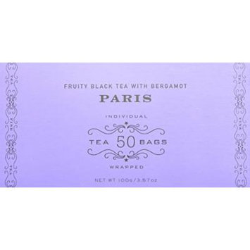 Harney and Sons Tea Bags, Paris, 50 Count (Pack of 2)