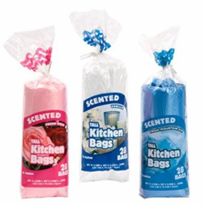 13 Gallon Scented Tall Kitchen Trash Bags Variety Bundle (3-pack)