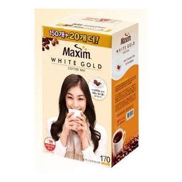 Maxim White Gold Instant Coffee - 170pks (Yuna Kim)