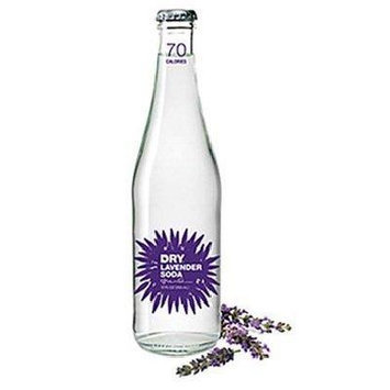 Dry Soda Co. Dry Soda, Lavender 12 oz. 4-Count (Pack of 6)