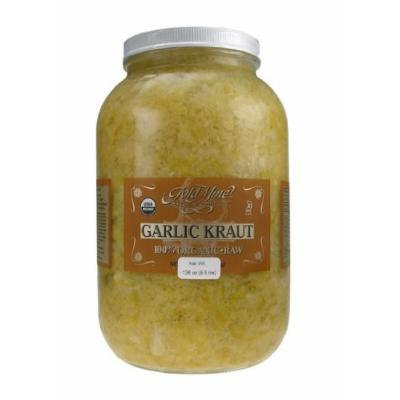 GOLD MINE ORGANIC RAW GARLIC KRAUT 1 GAL