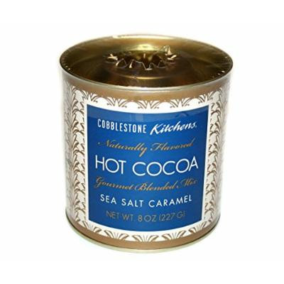 Cobblestone Kitchens Hot Cocoa Gourmet Blended Mix Sea Salt Caramel 8 oz