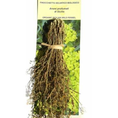 Organic Sicilian Wild Fennel Spice in Bunch 25 Gram