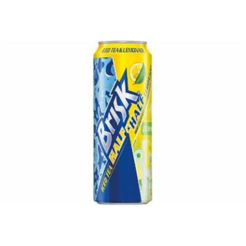 Brisk Half & Half Iced Tea, 24 Oz (Pack of 12)