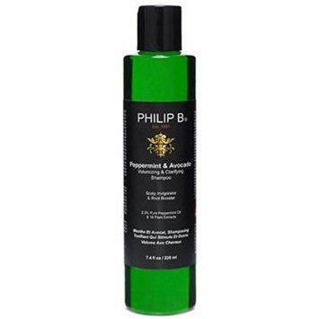 Philip B Peppermint & Avocado Volumizing & Clarifying Shampoo, 32 oz