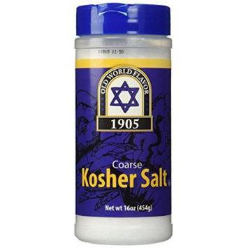 Coarse Kosher Salt - 16 oz,(Old World Flavor)